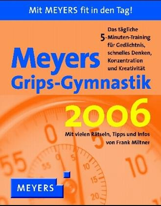 9783411080656: Meyers Grips-Gymnastik 2006