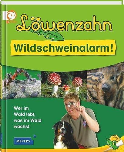 9783411083954: Löwenzahn - Wildschweinalarm!: Wer im Wald lebt, was im Wald wächst