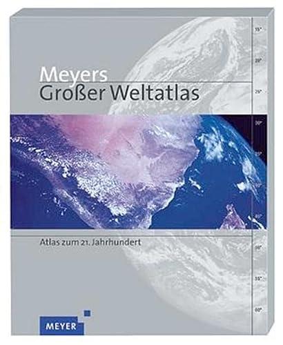 9783411088270: Meyers Großer Weltatlas. Atlas zum 21. Jahrhundert.