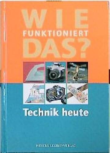 9783411088546: Title: Wie funktioniert das Technik heute