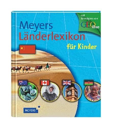9783411088812: Meyers Länderlexikon für Kinder