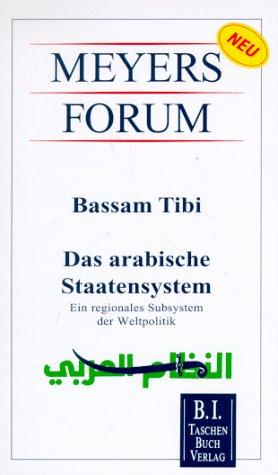 9783411106318: Das arabische Staatensystem
