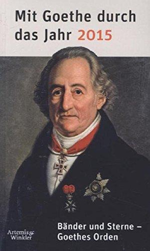 9783411160402: Mit Goethe durch das Jahr 2015