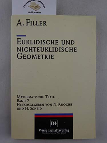 9783411163717: Euklidische und Nichteuklidische Geometrie