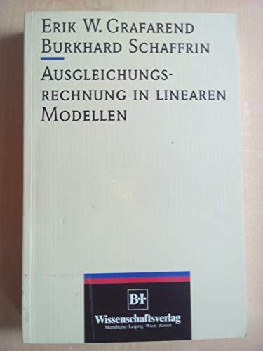 9783411163816: Ausgleichungsrechnung in linearen Modellen (German Edition)