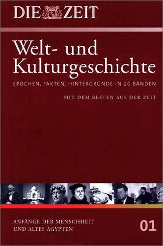 9783411175918: Die ZEIT-Welt- und Kulturgeschichte in 20 Bänden. 01