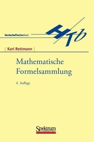 9783411701346: Mathematische Formelsammlung