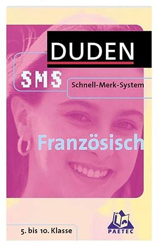 9783411702985: Duden. Schnell-Merk-System. Französisch.