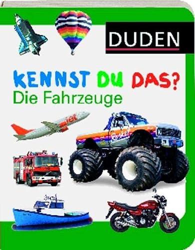 9783411704248: Die Fahrzeuge (German Edition)