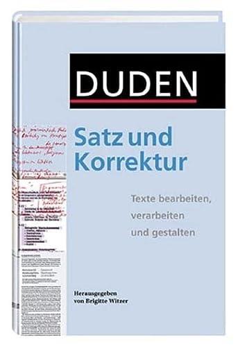 satz und korrektur - ZVAB
