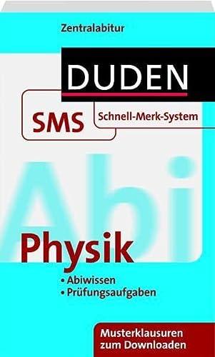 Schnell Merk System Abi Physik Duden Sms Schnell Merk System