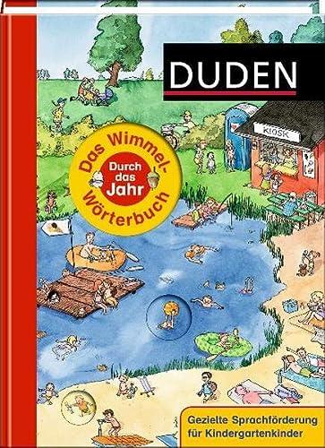 9783411707539: Duden. Das Wimmel-Wörterbuch - Durch das Jahr
