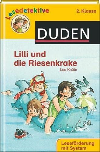 9783411708178: Lilli und die Riesenkrake (2. Klasse)