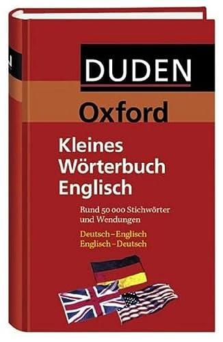 9783411708239: Duden. Oxford-Duden Kleines W�rterbuch Englisch.