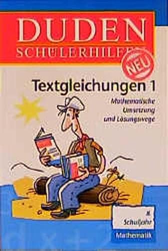 Duden Schülerhilfen, Textgleichungen: Borucki, Hans