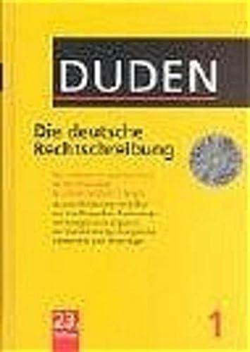9783411709236: Duden. Die deutsche Rechtschreibung. Buch und CD-ROM.