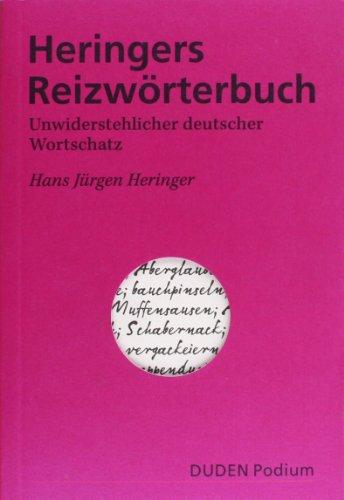 Heringers Reizwörterbuch (Duden Podium) - Heringer, Hans Jürgen