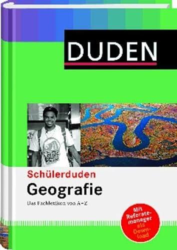 9783411710652: Duden. Schnlerduden Geografie