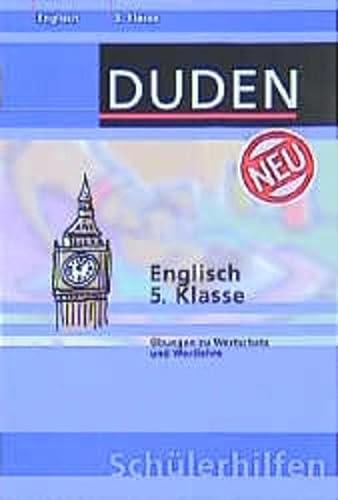 9783411712816: Duden Schülerhilfen, Englisch 5. Klasse (Livre en allemand)