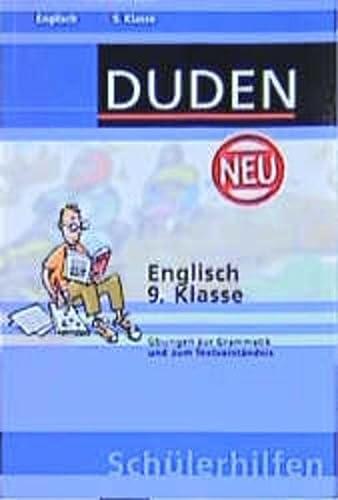 9783411713219: Duden Sch�lerhilfen, Englisch 9. Klasse