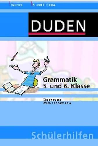 9783411713738: Grammatik 5. und 6. Klasse: Übungen zur Wort- und Satzlehre