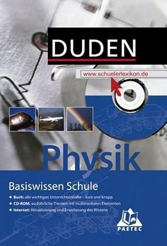 9783411714612: Duden Basiswissen Schule, m. CD-ROM, Physik