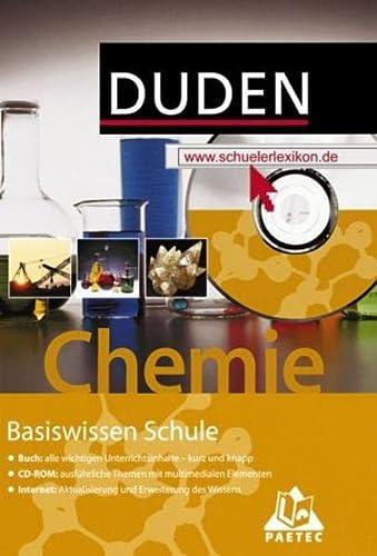 9783411714711: Duden Basiswissen Schule, m. CD-ROM, Chemie
