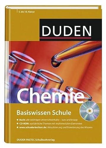 9783411714728: Duden. Basiswissen Schule. Chemie