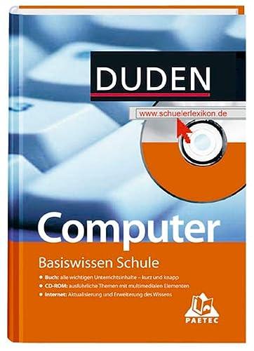 9783411715121: Duden. Basiswissen Schule. Computer