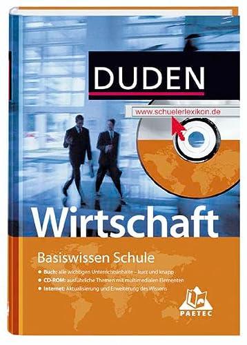 9783411715329: Duden, Basiswissen Schule : Wirtschaft