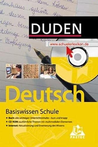9783411715916: Duden Basiswissen Schule - Deutsch, m. CD-ROM