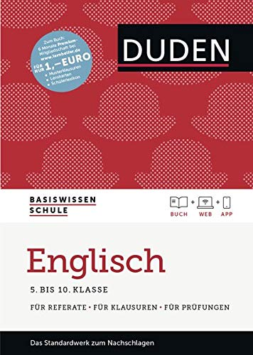 9783411719631: Basiswissen Schule - Englisch 5. bis 10. Klasse