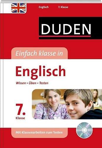 9783411722723: Duden - Einfach klasse in - Englisch 7. Klasse: Wissen - �ben - Testen