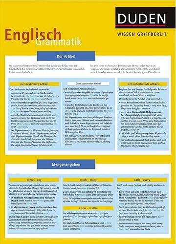 9783411723218: Duden Wissen griffbereit. Englisch Grammatik