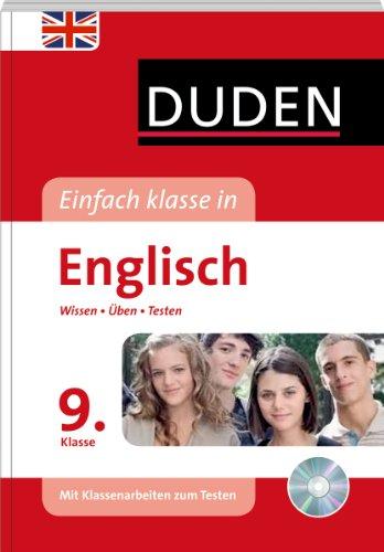 9783411725922: Duden Einfach Klasse in Englisch. 9. Klasse: Wissen - Üben - Testen