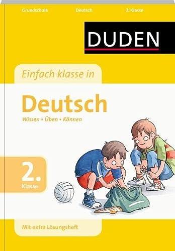 9783411726622: Duden Einfach klasse in Deutsch. 2. Klasse: Wissen - Üben - Können
