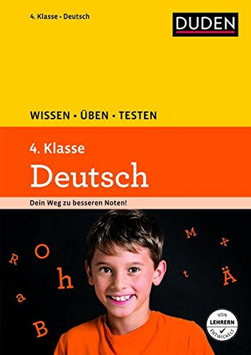 9783411726837: Wissen - Üben - Testen: Deutsch 4. Klasse
