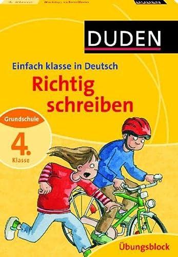 9783411730612 Richtig Schreiben 4 Klasse Deutsch Grundschule