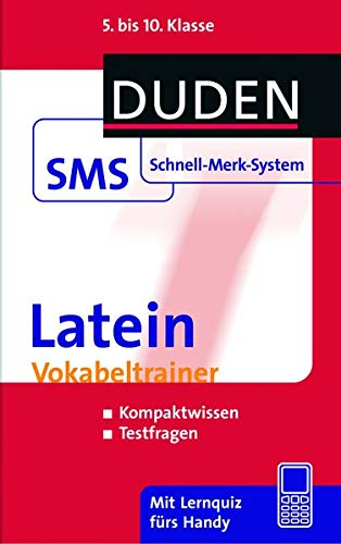 9783411730827: Latein Vokabeltrainer