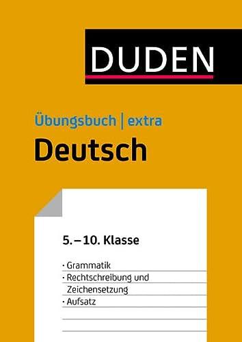 9783411730957: Duden Übungsbuch extra - Deutsch 5.-10. Klasse