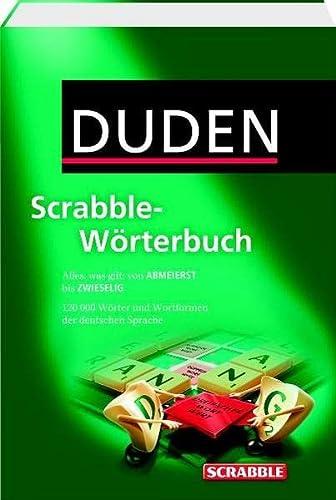 9783411732913: Duden Scrabble-Wörterbuch: Alles was gilt: von ABMEIERST bis ZWIESELIG. Rund 120.000 Stichwörter und Wortformen