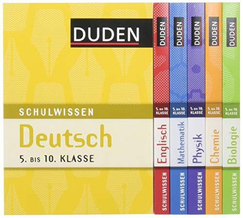 9783411735938: Duden Schulwissen 5. bis 10. Klasse (6 Bände)