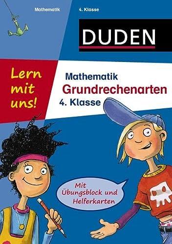 9783411736560: Lern mit uns! Mathematik Grundrechenarten 4. Klasse