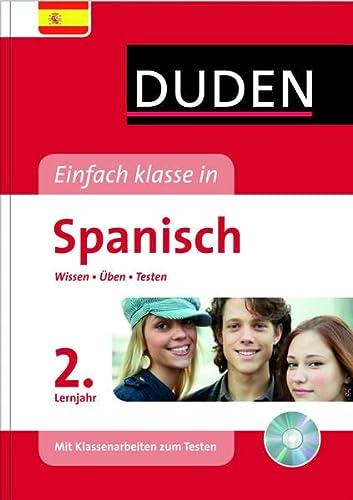 9783411738113: Duden Einfach klasse in Spanisch 2. Lernjahr: Wissen - Üben - Testen