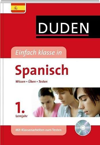 9783411738212: Duden Einfach klasse in Spanisch 1. Lernjahr: Wissen - Üben - Testen