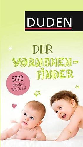9783411739936: Duden - Der Vornamenfinder