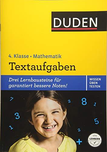9783411741236: Wissen - Üben - Testen: Mathematik - Textaufgaben 4. Klasse