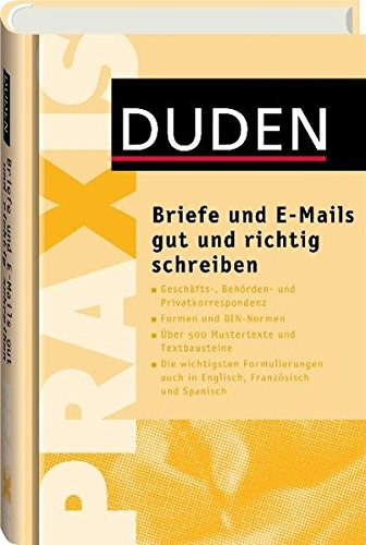 9783411743018 Duden Praxis Briefe Und E Mails Gut Und Richtig