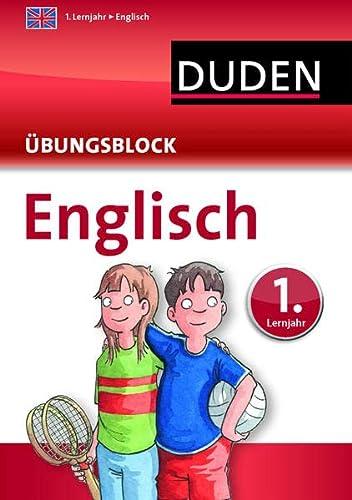 9783411747627: Englisch - Übungsblock 1. Lernjahr