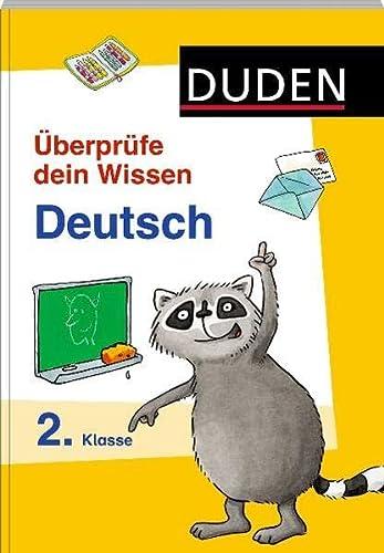 9783411747818: Überprüfe dein Wissen! Deutsch 2. Klasse